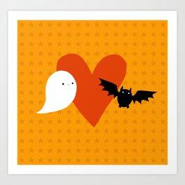 Spooky Love Art Print