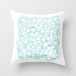Random Foam (Dirty Tiffany's) Throw Pillow