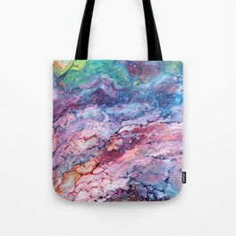 Rainbow Dream Groovy Flow #22 Tote Bag
