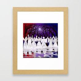 Midnight Prayers for the Living Sisters Framed Art Print