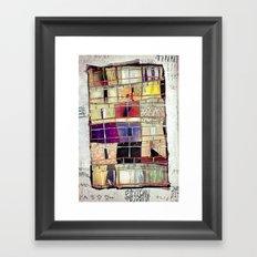 Aconchego -SP Framed Art Print