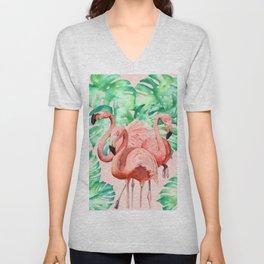 Flamingo Ivelin Unisex V-Neck