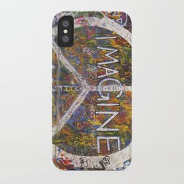 Imagine - Lennon Wall iPhone Case