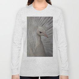 Paon blanc Long Sleeve T-shirt