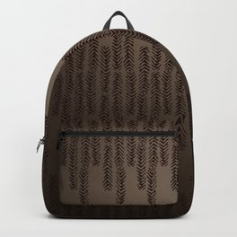 Eye of the Magpie tribal style pattern Backpack