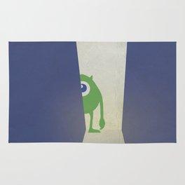 Monsters Inc. Walt Disney Alternative Movie Poster Rug