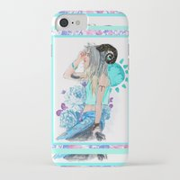 aries iPhone & iPod Cases featuring Aries by Sara Eshak