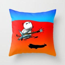 Axe-Man by Jon Warren Throw Pillow