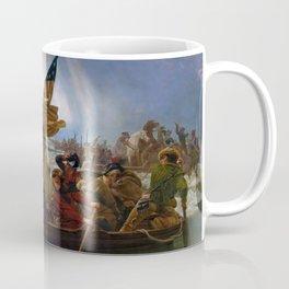 Washington Crossing the Delaware by Emanuel Leutze (1851) Coffee Mug