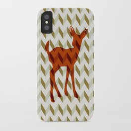 Woodland Fawn  iPhone Case
