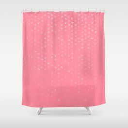 libra zodiac sign pattern pw Shower Curtain