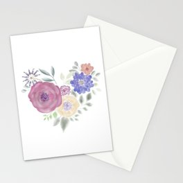 HeArt Floral Stationery Cards