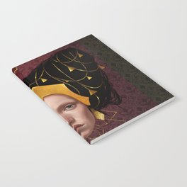 Gold Wire Notebook