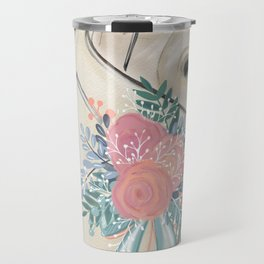 Wedding Day Bouquet Travel Mug