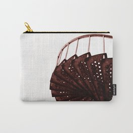Rusty old industrial stairs Carry-All Pouch