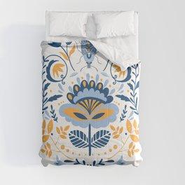 Scandinavian Folk Art 011 Comforters