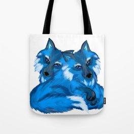 Twin Fox Tote Bag