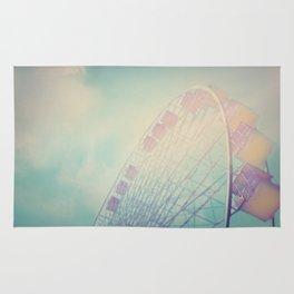 Into the Sky Ferris Wheel Rug