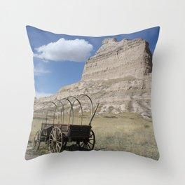Trail's End Throw Pillow