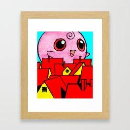 Pink Horror Framed Art Print