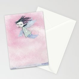 Moonstruck - the sleeping fairy Stationery Cards