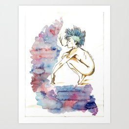 Punky Art Print