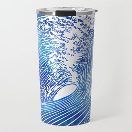 Blue Wave II Travel Mug