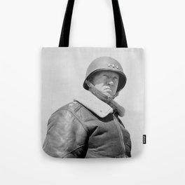 General George Patton Tote Bag