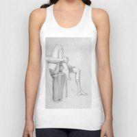 legs Tank Tops featuring Legs by Creo