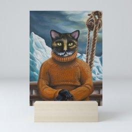 Arctic Explorer: Ernest Shackleton Mini Art Print
