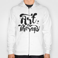 Art is Therapy Hoody