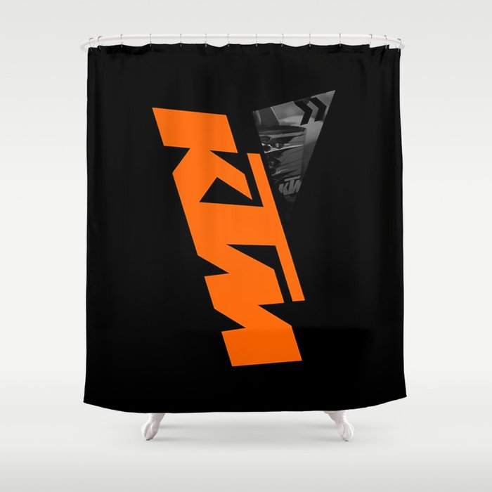 KTM Shower Curtain By Many11