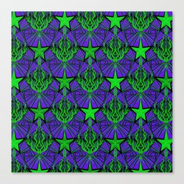 Starfire Kaleidoscope (Acid Comet) Canvas Print