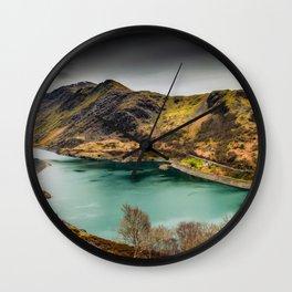 Llyn Peris Snowdonia Wall Clock