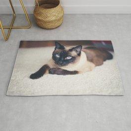 Siamese Cat Rug