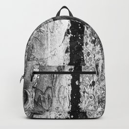 Carvings in Tree Trunk Gnarly Texture Pattern Backpack