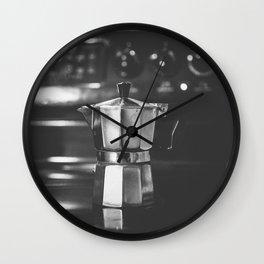 Cafecito Cubano - Cuban Coffee Wall Clock