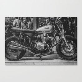 Bike Shed Canvas Print