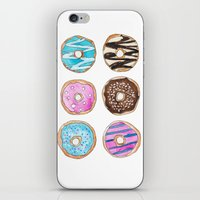 donut iPhone & iPod Skins featuring Donut by KseniaKess