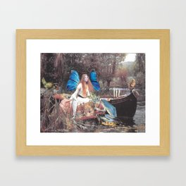 Faerie Ferry Framed Art Print