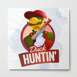 Duck Hunt -NES Metal Print