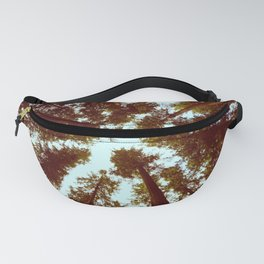 Forest Sky Vintage Trees Fanny Pack