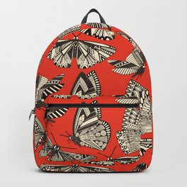 summer butterflies fire Backpack