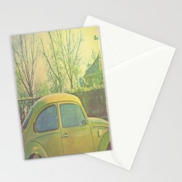 Yellow VW Stationery Cards