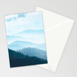 Smoky Mountain Blues - National Park Adventure Stationery Cards