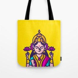 Lakshmi - The Goddess of Wealth Tote Bag