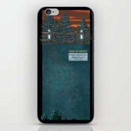 Wayward Pines iPhone Skin