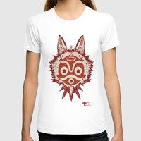 princess mononoke T-shirts featuring Princess Mononoke by StraySheep