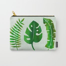 3 Leaves - Tropical Carry-All Pouch