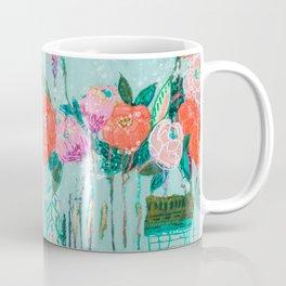 Pretty Messy Flowers Coffee Mug